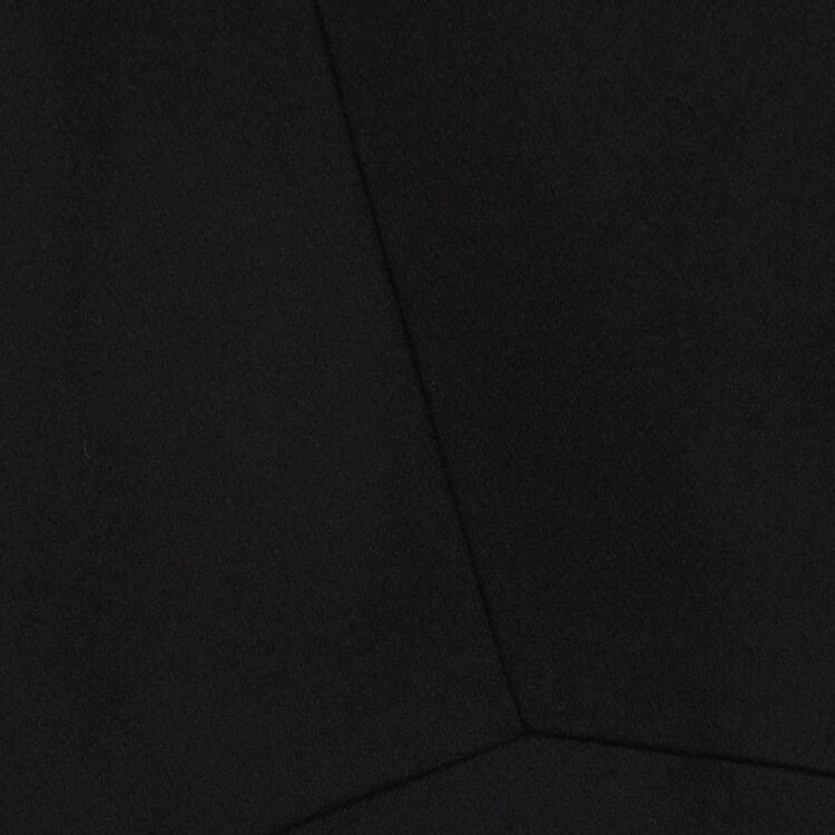 Abrigo recto con mezcla de cachemira : Abrigos color Azul Marino